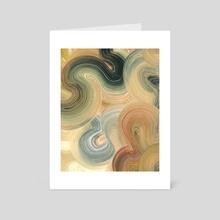 Oak - Art Card by Katie Over
