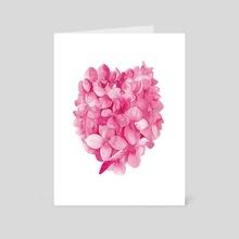 Hydrangea III - Art Card by Paulina Navarro