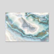 Broken Sea Crystal - Acrylic by Andi GreyScale