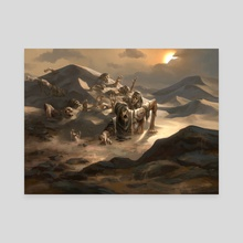 "Grasping Dunes - Canvas by Mike ""Daarken"" Lim"
