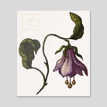 Fairy Bells - Acrylic by Paula Collins