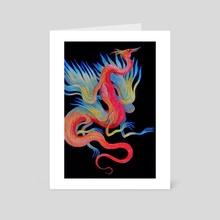 Bird - Art Card by Miko Yaga