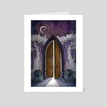 Haunted Forest - A New World - Art Card by Tiffany England