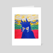 How Can You Be Sad ? - Art Card by Visionary J