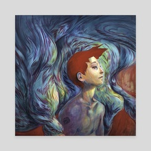 Secrets - Canvas by Marc Scheff