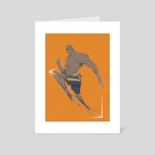 Sagat Robocop - Art Card by Nasp