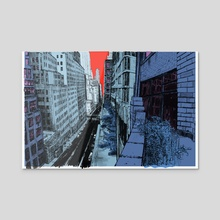Balcony - Acrylic by Matt Rota