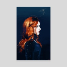 Neko Case - This Tornado Loves You - Canvas by Brad Collins