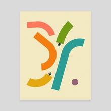 REACH (2) - Canvas by Jazzberry Blue