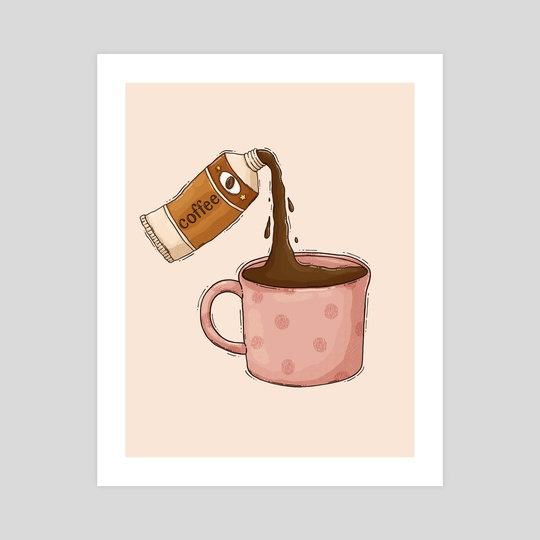 Coffee Tube by Tania S