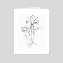 Antelope ? - Art Card by Enzo Martini