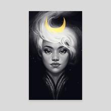 Moonlight - Canvas by Maria Dimova