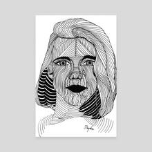 Hypnotizing - Canvas by Łukasz Bojke