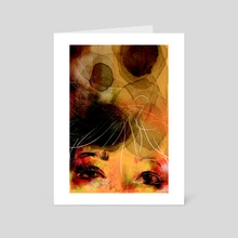 eyes - Art Card by elnaz masrour