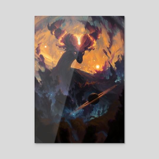 The Cosmic Dragon by Ondřej Hrdina