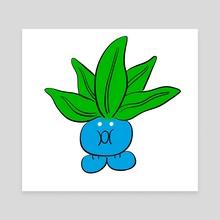 oddish - Canvas by George Mager