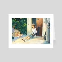 Sun Break - Art Card by Bella Quinn