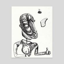 3rdeye Time - Canvas by e.p. alexander