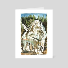 Union Falls - Art Card by Emily Martin