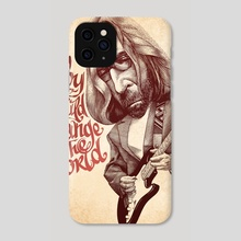 Baby if I Could Change the World - Phone Case by Andrey Kokorin