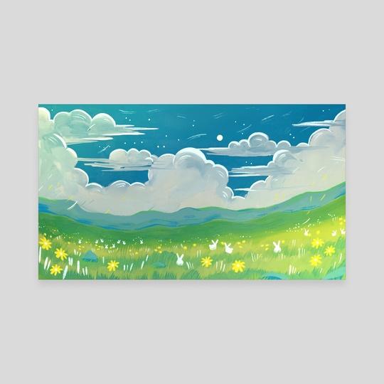 Blue Sky by Titsay