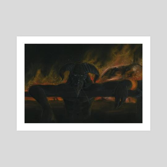 Devil the Arsonist by Krzysztof Wielkopolski