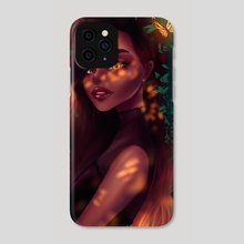 Butterfly garden - Phone Case by Chixie