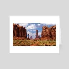 Monument Valley - Art Card by Jason Scheier