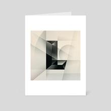 L - Art Card by Nicholas Matej