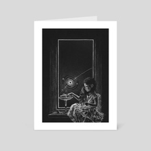 Blackout - Art Card by Simone fougnier