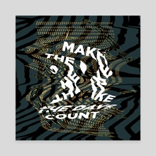Make the days count  - Canvas by Juriaan Hogenboom