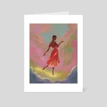 Stardust - Art Card by Ryan Jude Novelline