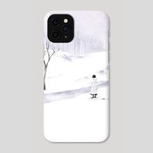COLD DAY  - Phone Case by Ksenya Knysh