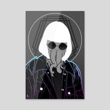 Rebellious - Acrylic by Zio Adams