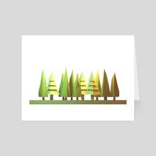 Trees - Art Card by Timothy J. Reynolds