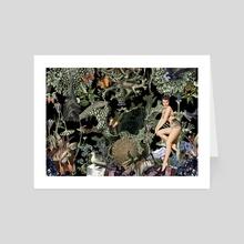 OBSIDIANA - Art Card by Gloria Sánchez