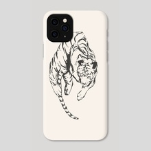 Tiger // Chinese Medicine - Phone Case by Daniel Ido