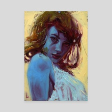 Too Blue - Canvas by John Larriva