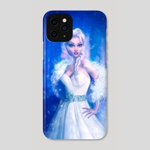Elsa, Frozen - Phone Case by Joe Roberts