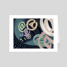 Email - Art Card by Bruce Rolff