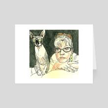Joan - Art Card by Vin Ganapathy