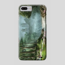 The Eastern Path - Phone Case by Jennifer Lange
