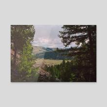Valley - Acrylic by akbat