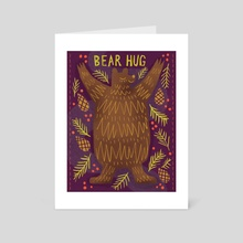 Cozy Bear - Art Card by Austin Lord