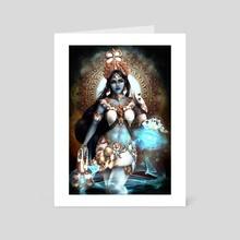 Symmetra - Art Card by Christian Ugarte