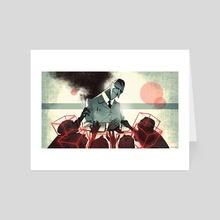 IN-SHADOW: Help - Art Card by Lubomir Arsov