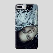 blue eyes - Phone Case by Marta Bevacqua