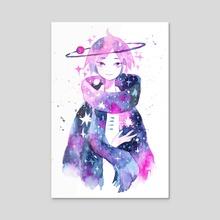 Cosmic Scarf - Acrylic by koyamori