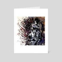 Wolf Kostart - Art Card by Konstantin Kalinin
