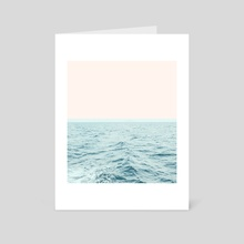 Sea Breeze - Art Card by 83 Oranges